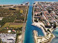 Aerial-view-of-Potidea-sea-canal-in-Greece