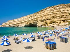 21_Famous-Beach-Matala,-Greece-Crete
