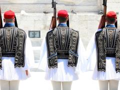 35_ceremonial-changing-three-guards-in-Athens,-Greece