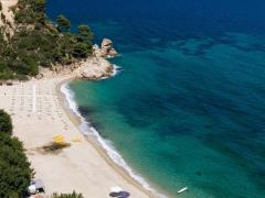 Banana beach, Halkidiki, Greece