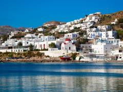 31_The-famous-red-boat-and-a-church-in-the-bay-of-Mykonos.